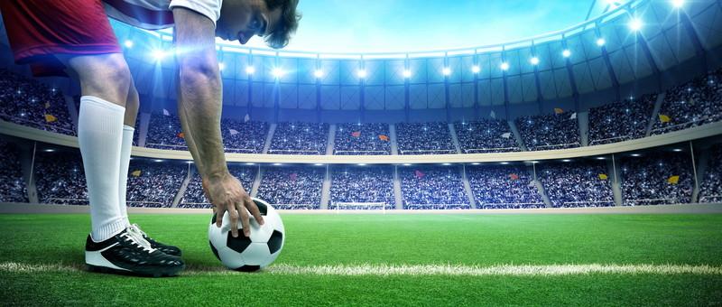 若手サッカー選手